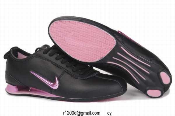 basket femme nike shox