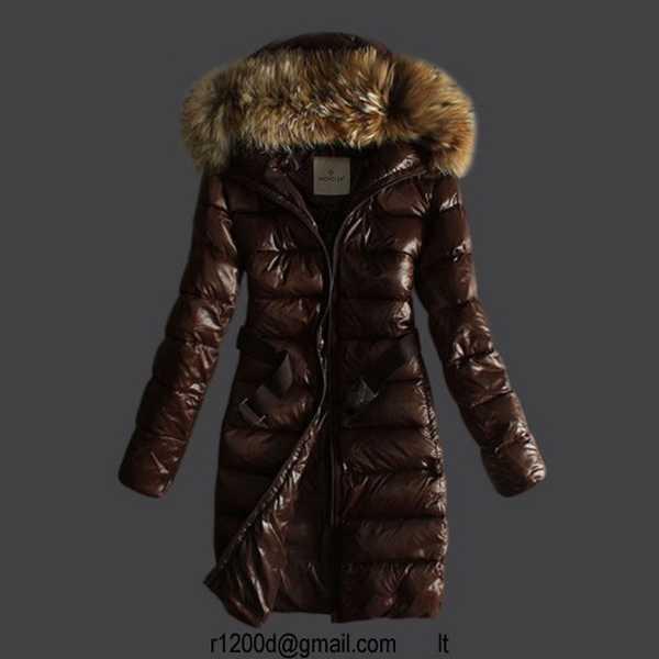 2014 Moncler Y 22 fourrure capuche doudoune pour les femmes